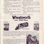 Wheatsworth Advertisement