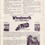 Wheatsworth Advertisement