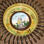 ashtray with spring