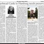 Hist24 Gingerbread Castle